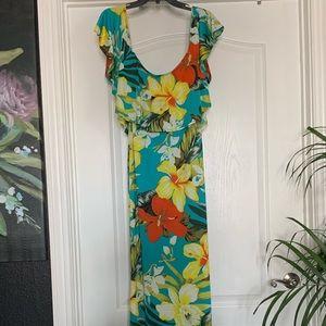 Off the shoulder dress (long) by fashionNova